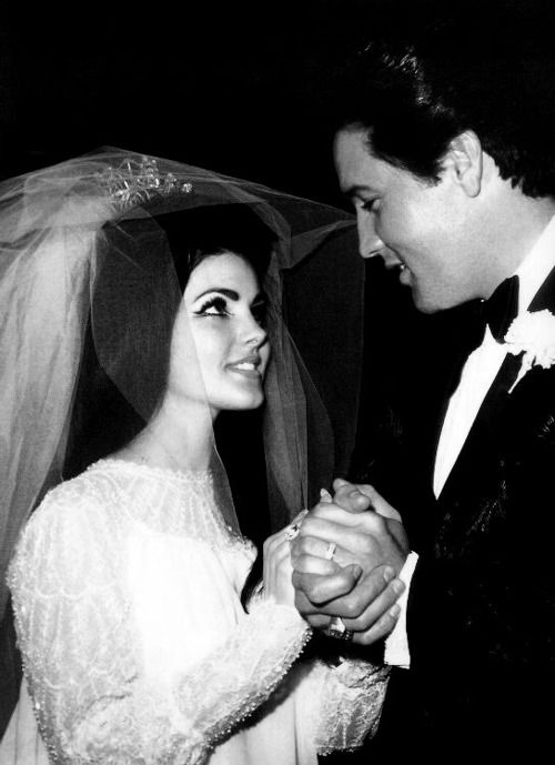 Priscilla & Elvis - 1967. If you ignore the child-bride aspect, its a kick-arse match up.