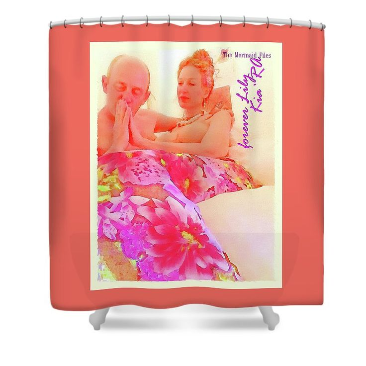 Photography Shower Curtain featuring the photograph The Mermaid Files by KiaRa