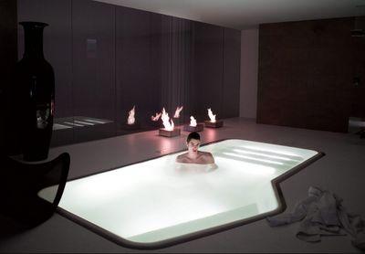 Indoor bathroom pool