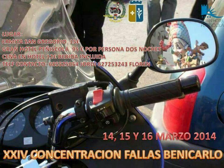 Concentración Fallas Benicarlo, 14, 15 y 16 de marzo