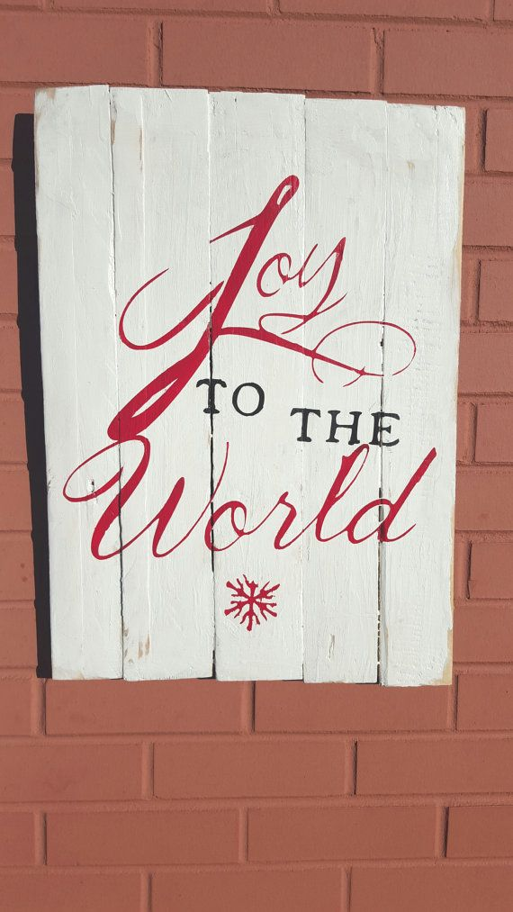 - Joy To The World Sign Studios, World And Signs