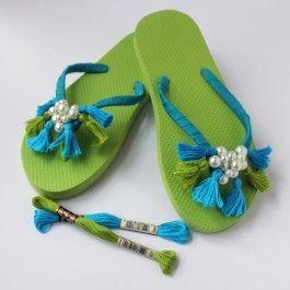 DMC Tassel Flip Flops