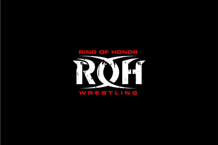 Ring of Honor Wrestling logo refresh by peper pascual