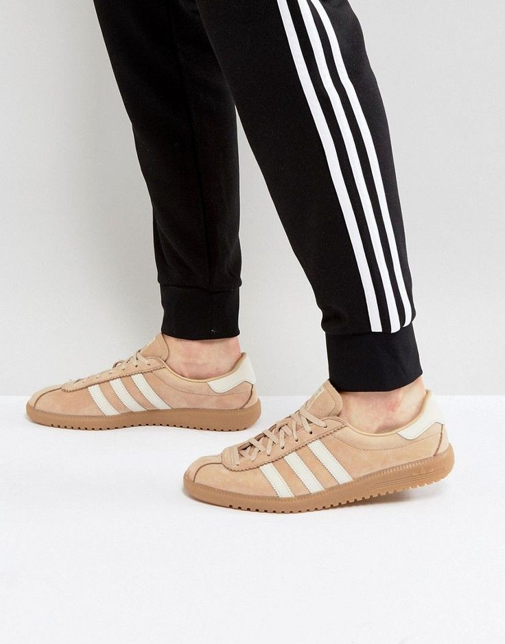 ADIDAS ORIGINALS BERMUDA SUEDE SNEAKERS IN BEIGE BY9654 - BEIGE. #adidasoriginals #shoes #