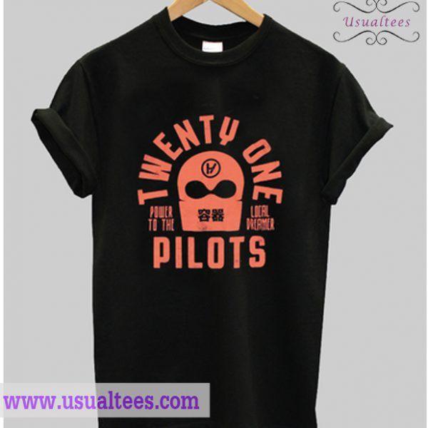 Twenty One Pilots Power To The Local Dreamer T Shirt