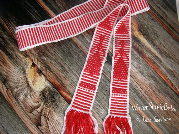 Ready to ship New Woven Belt Women's Belt Slavic Belt