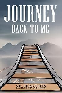 Journey Back to Me designed by Lynne Holton | JF: An evocative, symbolic cover for this very personal self-help book that will draw readers in. ★