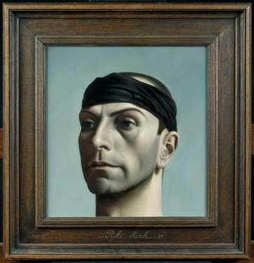 Pyke Koch, Zelfportret met zwarte band, Centraal Museum Utrecht