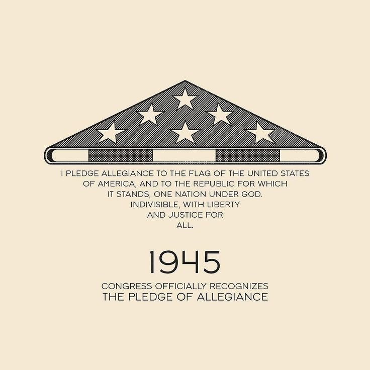 This Day In History - Dec 28 - 1945 - US Congress officially recognizes the Pledge Of Allegiance.  --- #thisdayinhistory #todayinhistory #tdih #hitory #onthisday #flag #unitedstates #america #usa #patriotism #starsandstripes #365project #illustration #adobe #vector #simple #stars #stripes #pledge #pledgeofallegiance #instagood #instaart #minimal #minimalism #minimalist #congress #1945