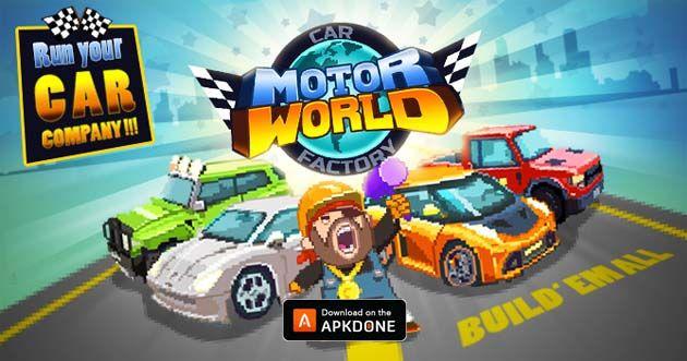 Motor World Car Factory >> New Apk Motor World Car Factory 1 9033 Mod Unlimited Money