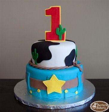 Fancy cowboy cake...