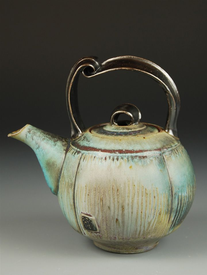 Wenfen Pan Okemos MI:: the dripping glaze, lighting, handle's gentle touch