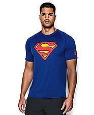 Superman T Shirts | Under Armour Men's Alter Ego Superman T-Shirt Medium Royal