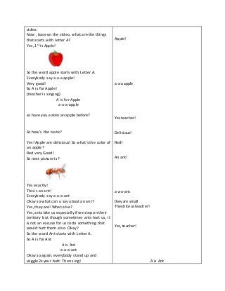 Detailed Lesson Plan In English For Kindergarten Lesson Lesson