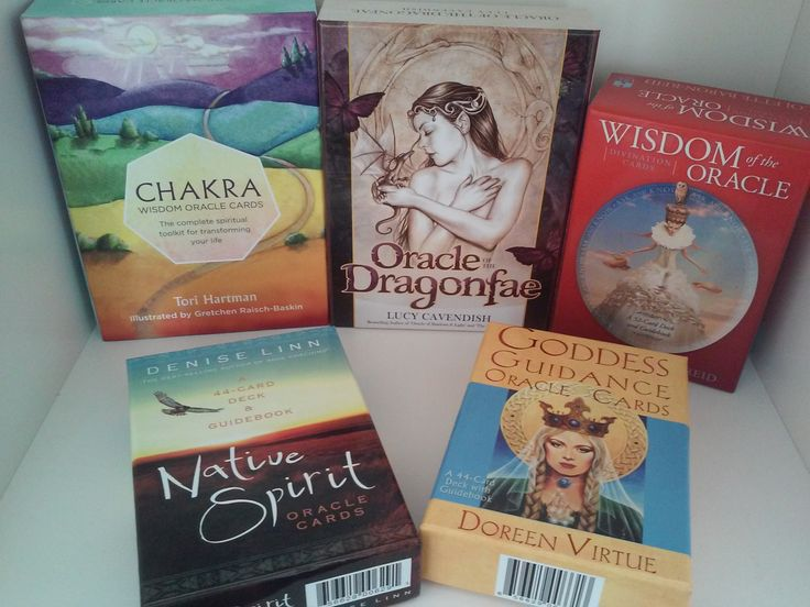 Oracle decks suitable for a holiday gift. Oracle of the Dragonfae, Native Spirit and more