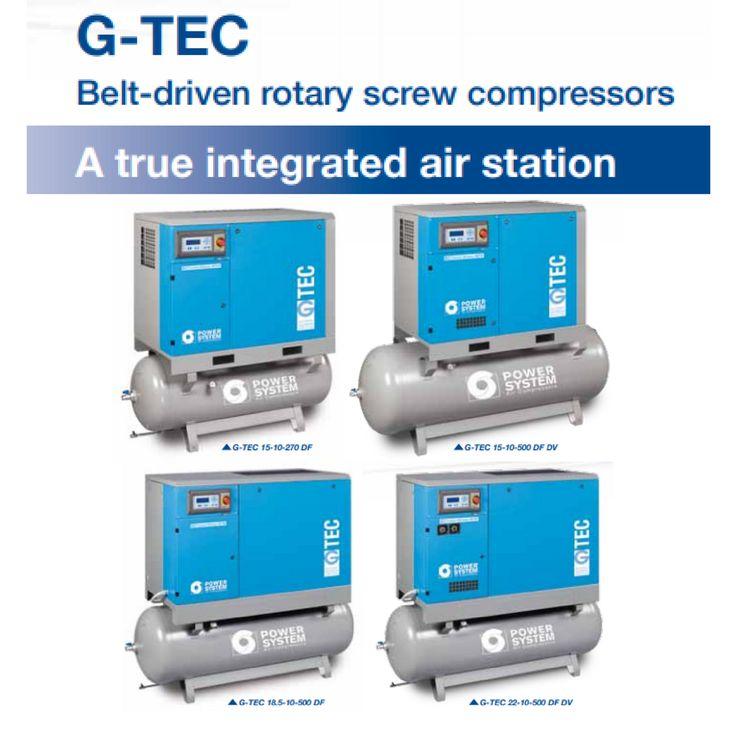 PowerSystem Gtec Compressors  #aircompressors #air #compressors #powersystem #industrial #business #energy #efficiency #gtec