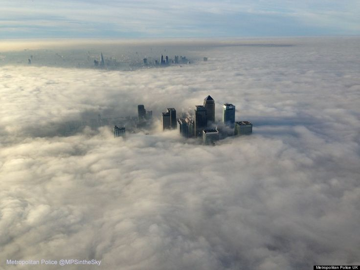 霧のロンドンは、本当に美しい(写真)