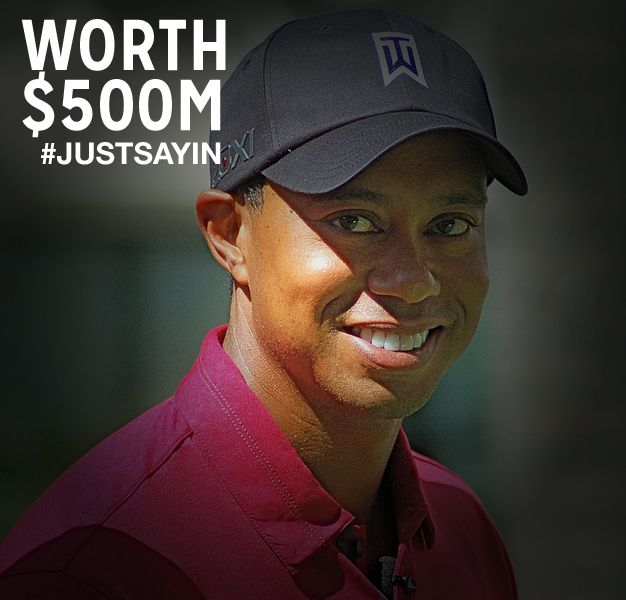 tiger woods net worth before   1 billion now