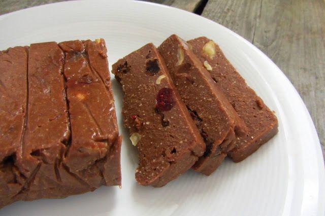 wegański blok czekoladowy