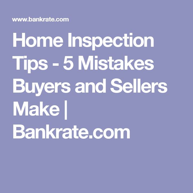 home inspection mistakes to avoid knowledge home inspection home buying home. Black Bedroom Furniture Sets. Home Design Ideas