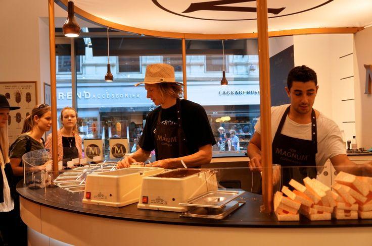 Design din egen Magnum-is i Companys Original på Strøget til og med d. 10. juni 2014.