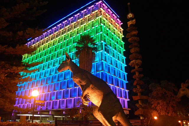 Illumination - Perth Council Block by PortlandDevelopments, via Flickr