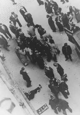 The Roundup of the French Jews...by the French police, at Vel d'Hiv....thousands crammed into a stadium, no food, no water, dying, to be transported to their deaths...