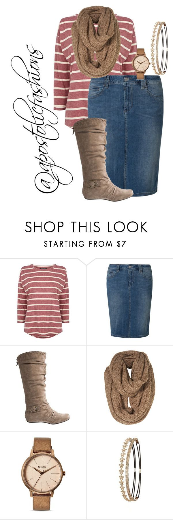 """Apostolic Fashions #1563"" by apostolicfashions ❤ liked on Polyvore featuring Warehouse, Bogner, Nixon, Charlotte Russe, modestlykay and modestlywhit"