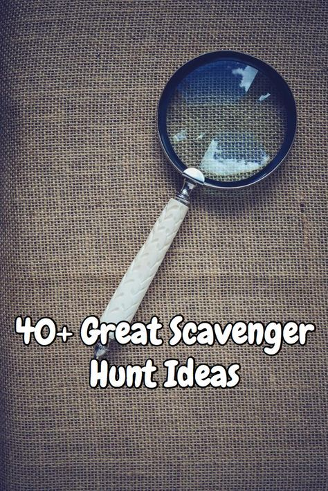 Scavenger Hunt Ideas for Your Next Party