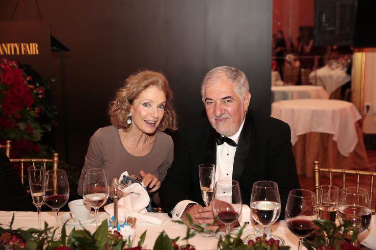 Pilar González de Gregorio y Cándido Conde Pumpido. - Todos los invitados a la cena de gala Personaje del Año
