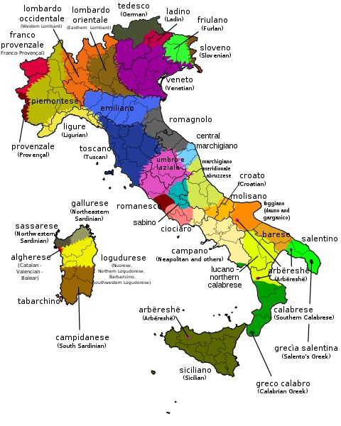 Italian dialects (or languages) and dialects of the Italian language are not one and the same.