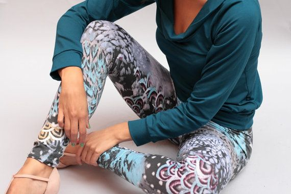 Legging Damar yoga legging yoga pants Baumwoll