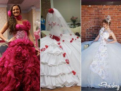 My Big Fat American Gypsy Wedding Dresses