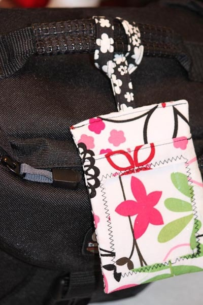 Luggage Tags. What a great stocking stuffer!
