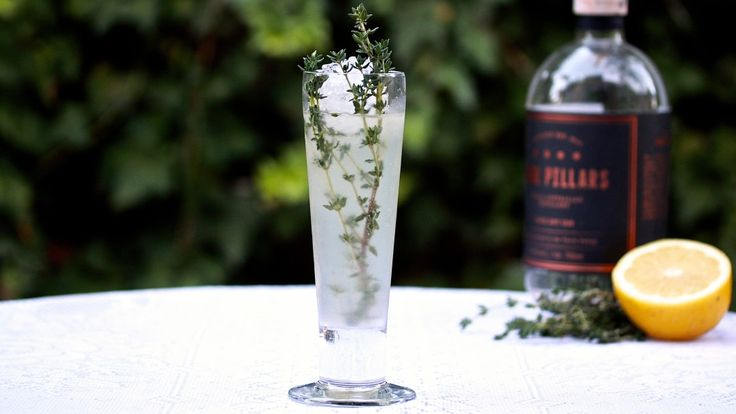 """THYME COOLER: Thanks to the Labour Day public holiday, everyone has a bit of extra time on their hands, so why not kick back and enjoy a """"Killing Thyme"""". Mixed with Gin, Dry Vermouth, Lemon Juice, Sugar syrup and thyme. Recipe on the blog."""