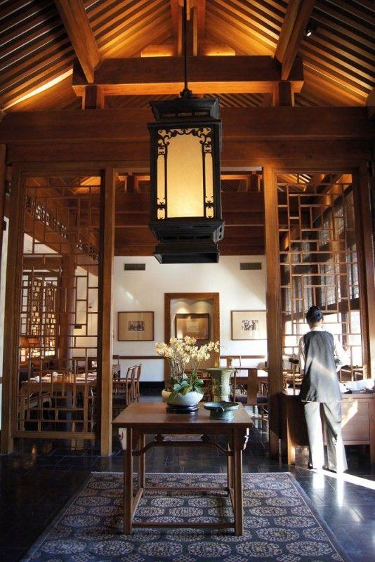649 besten chinese interiors bilder auf pinterest for Innendekoration restaurant
