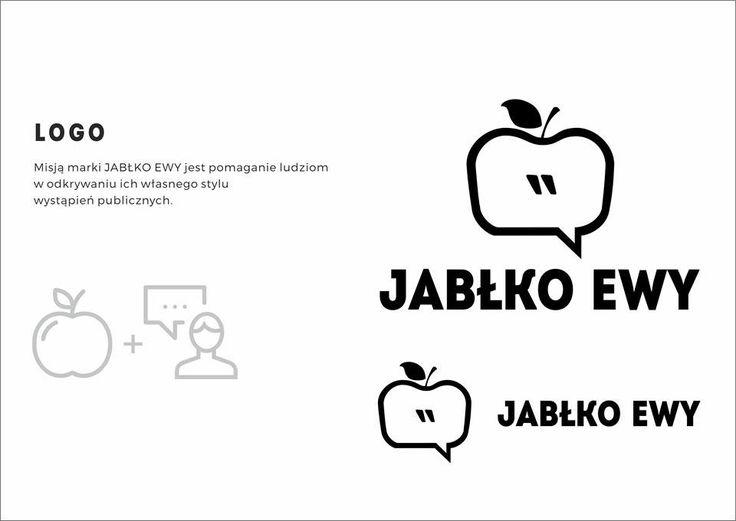 Brand identity design Jabłko Ewy Public Speaking Coach on Behance
