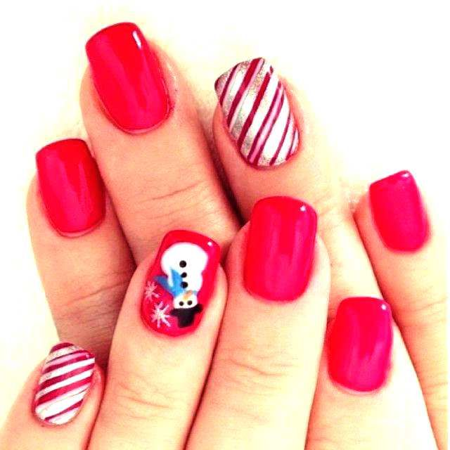 New Christmas Nail Designs 2014