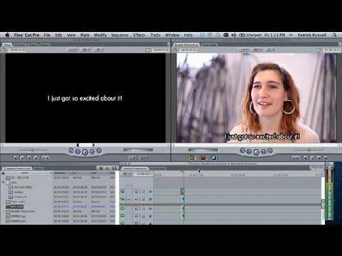 Best 25 add subtitles to video ideas on pinterest origami books how to add subtitles in final cut pro final cut pro tips tricks ccuart Gallery