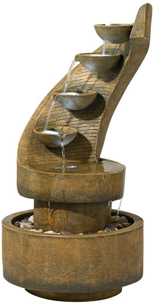 15 best outdoor water fountains images on pinterest. Black Bedroom Furniture Sets. Home Design Ideas