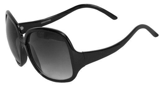 Belgo Lux Womens Black Oversized Designer Sunglasses
