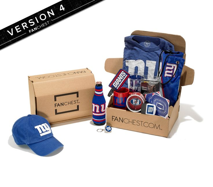 New York Giants Gift Box | Giants Gear | Best Gift for Giants Fans • FANCHEST