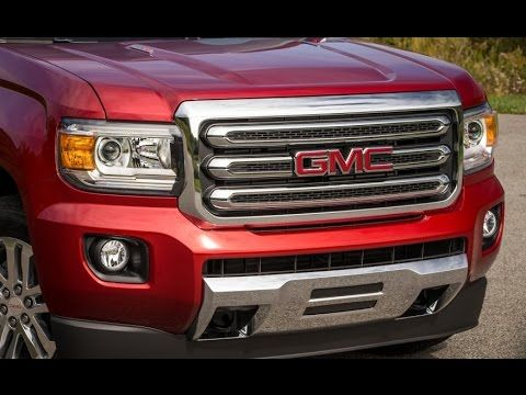 2016 GMC Canyon Diesel 2 8 Liter Canyon Truck Exterior and Interior Reivew