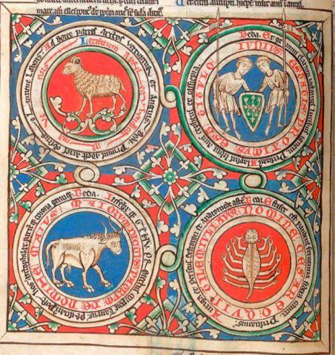 Segni zodiacali - miniatura dal