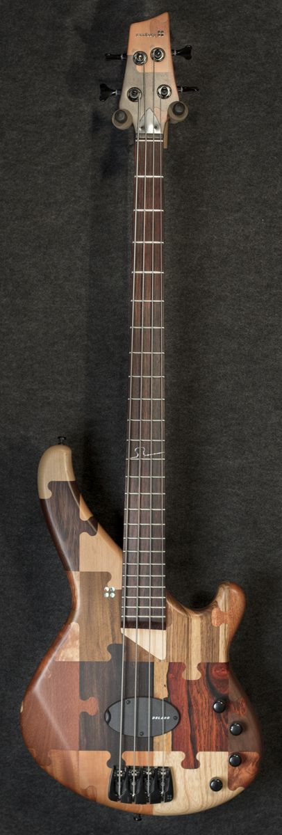 Sandberg Custom Shop Puzzle Piece 4 String Bass - Only One is the USA!!!! - $4,495