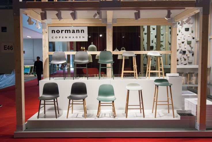 Normann Copenhagen at the Salone del Mobile Furniture Fair in Milan | #MilanDesignWeek #iSaloni #salonedelmobile