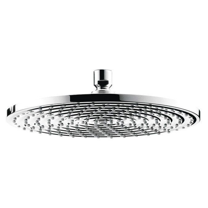 Hansgrohe Overhead Rain Shower Head Hansgrohe Overhead Rain Shower Head Review It's really hard to find a better Rain Shower Head on the market! Combining the large, 10 inch diameter face with Hansgro