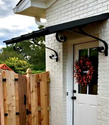 This is the perfect awning to protect any single door or ...
