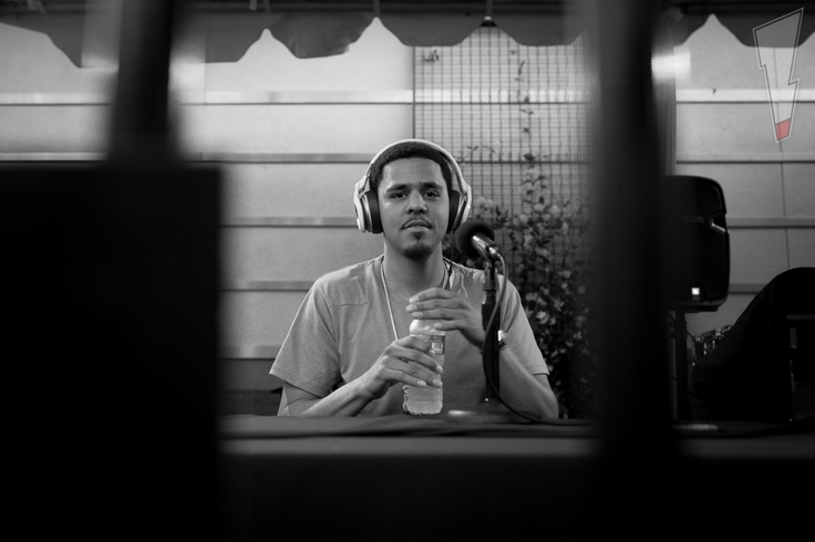 J.Cole made an appearance wearing #MonsterNCredible #NPulse headphones at Big Boy's Backstage Breakfast to perform songs from his J. Cole - Cole World: The Sideline Story album.