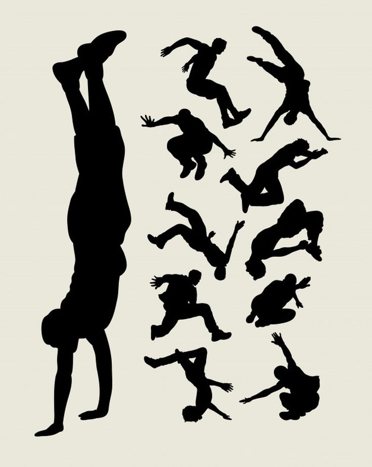 Parkour silhouette #paid, , #Affiliate, #AD, #silhouette ...